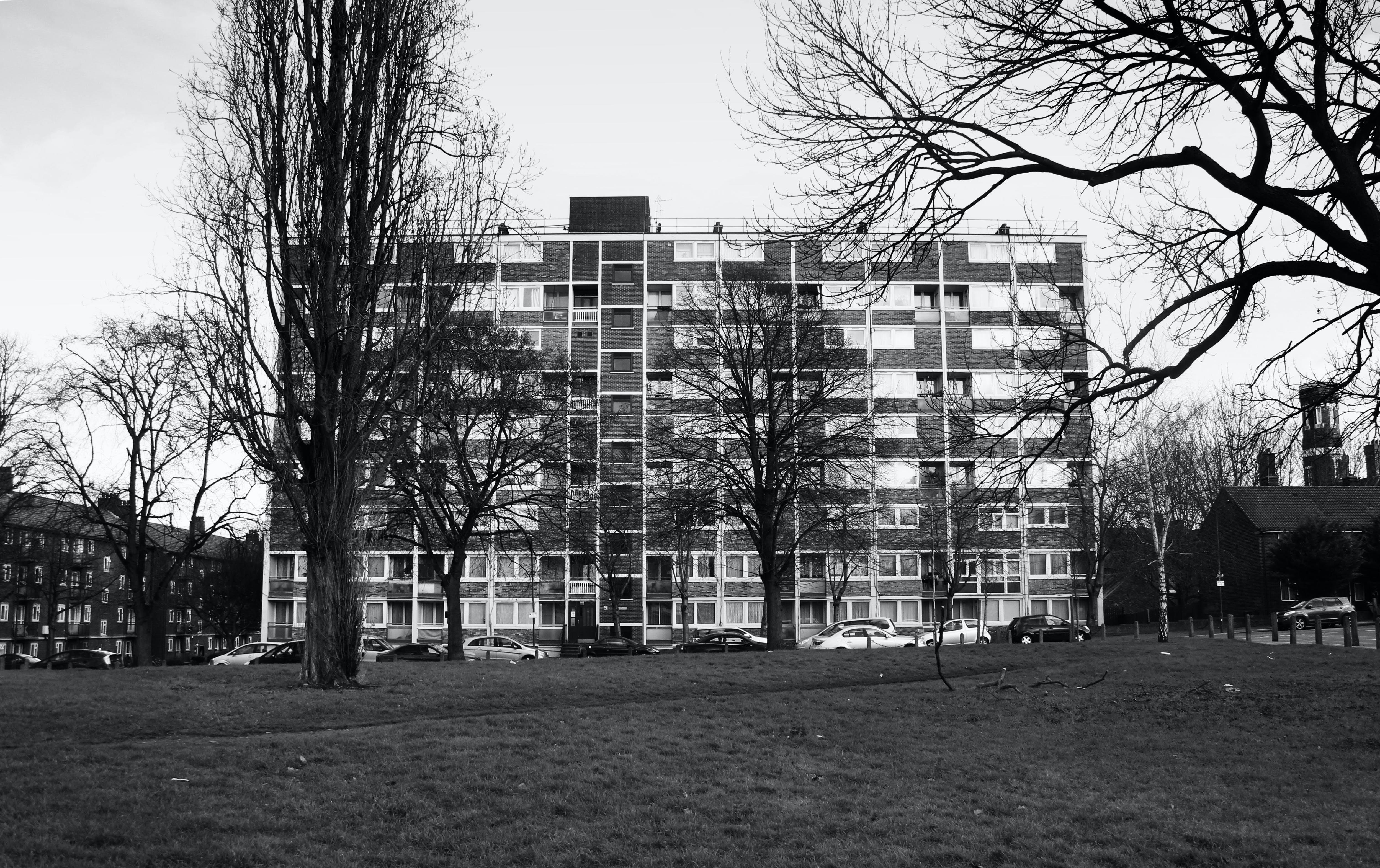 Free stock photo of 1960s, council block, council flat, london
