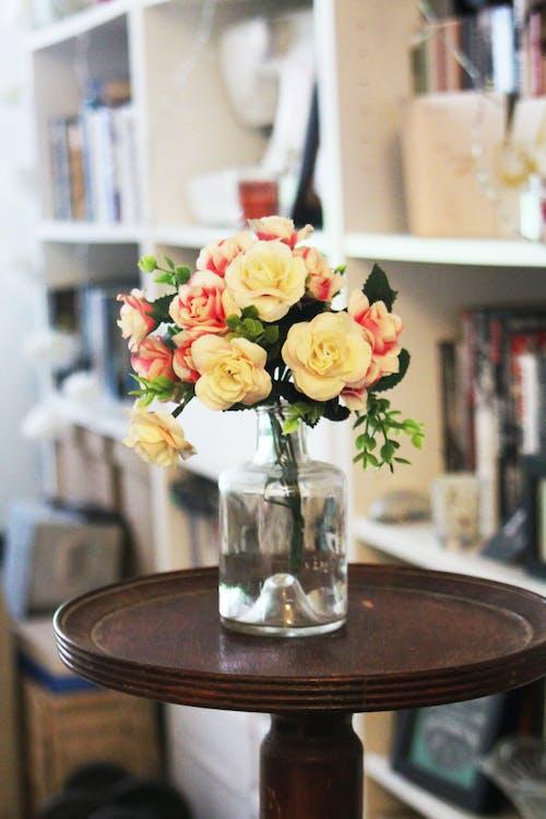 Fotobanka sbezplatnými fotkami na tému dizajn, farby, knihy, kvetinový aranžmán