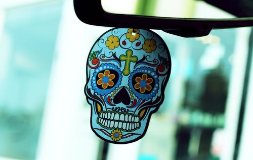 Foto d'estoc gratuïta de art, brillant, calavera, crani