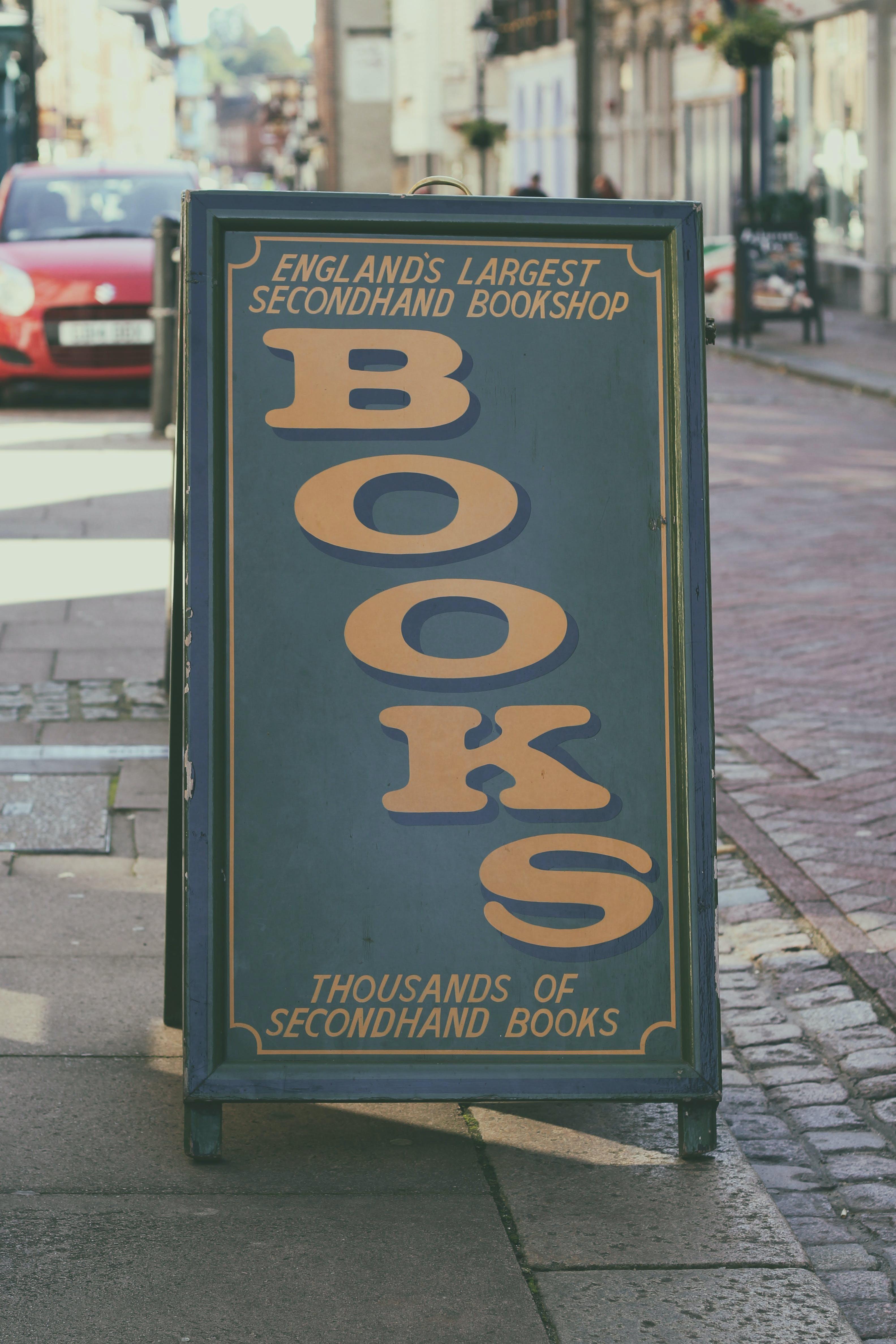 Books Signage