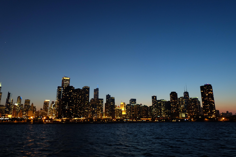 City Skyline during Nighttime