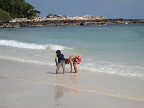Ảnh lưu trữ miễn phí về bờ biển, bọn trẻ, trời xanh