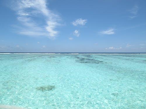 Ingyenes stockfotó kék ég, kristálytiszta, tiszta víz témában