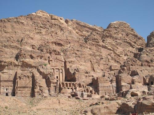 Free stock photo of cliff dwelling, jordan, petra