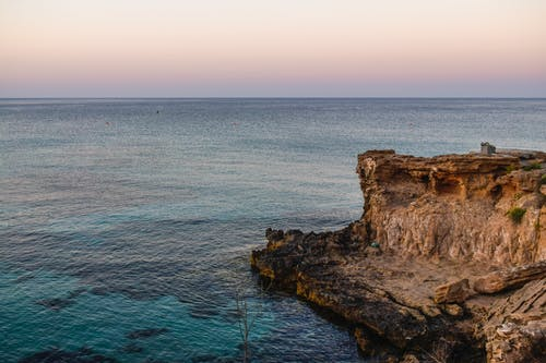 Free stock photo of blue waters, clear water, cliff