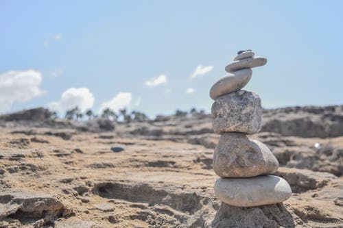 Free stock photo of beach, beachlife, blue sky, stones