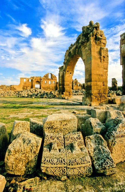 ランドマーク, 古代, 屋外, 廃墟の無料の写真素材