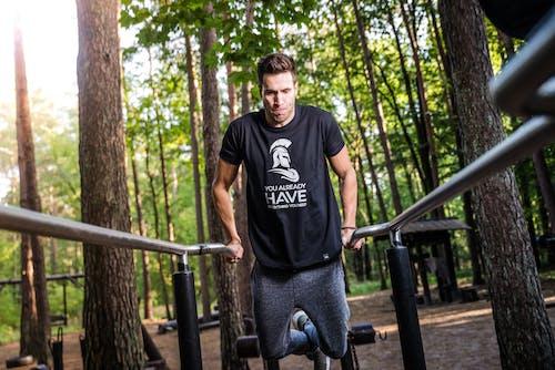 คลังภาพถ่ายฟรี ของ กางเกงวอร์ม, การออกกำลังกาย, คน, คล่องแคล่ว