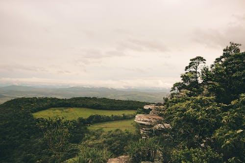 Δωρεάν στοκ φωτογραφιών με βουνά, βράχια, γκρεμός, γρασίδι