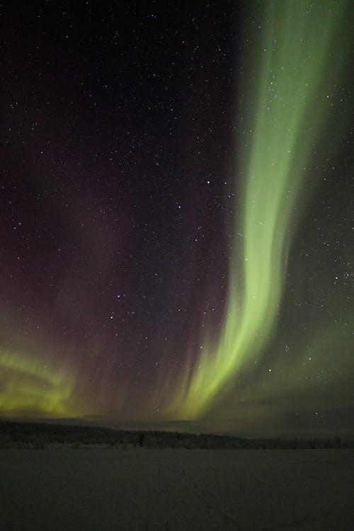 Ingyenes stockfotó aurora borealis, celebek, éjszakai égbolt, Finnország témában