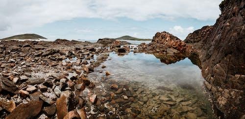 Scenery of a Rocky Beach