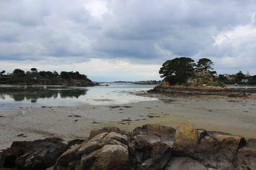 Free stock photo of beach, bretagne, brittany, cloudy
