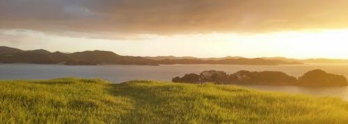 Gratis arkivbilde med moutains, panorama, panoramautsikt, sjø