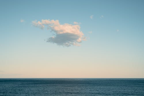 Scenery of a Calm Ocean