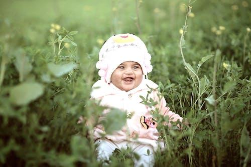 Foto d'estoc gratuïta de adorable, bebè, Bon dia, bonic