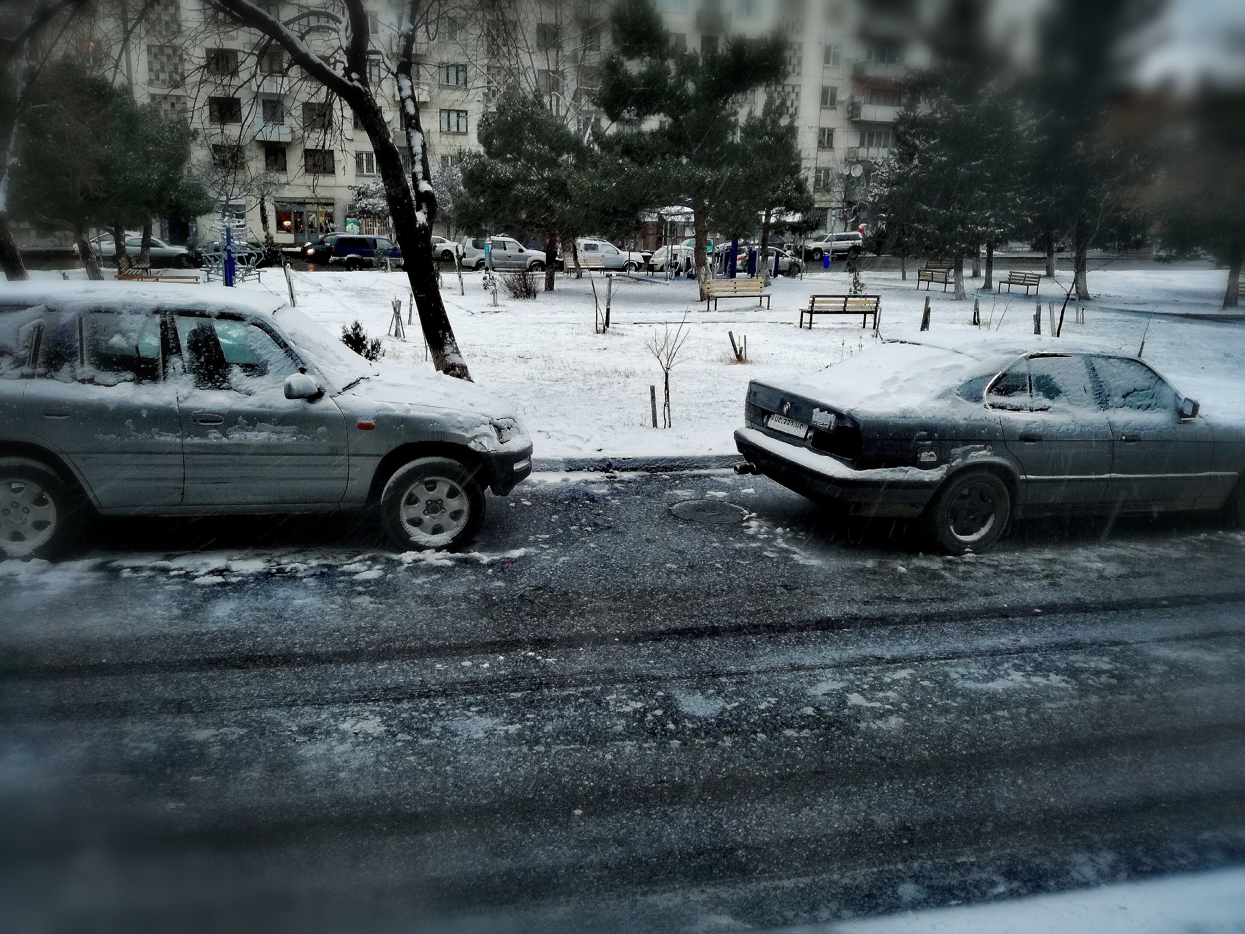 Δωρεάν στοκ φωτογραφιών με δρόμος, πάγος, χειμώνας, χιόνι