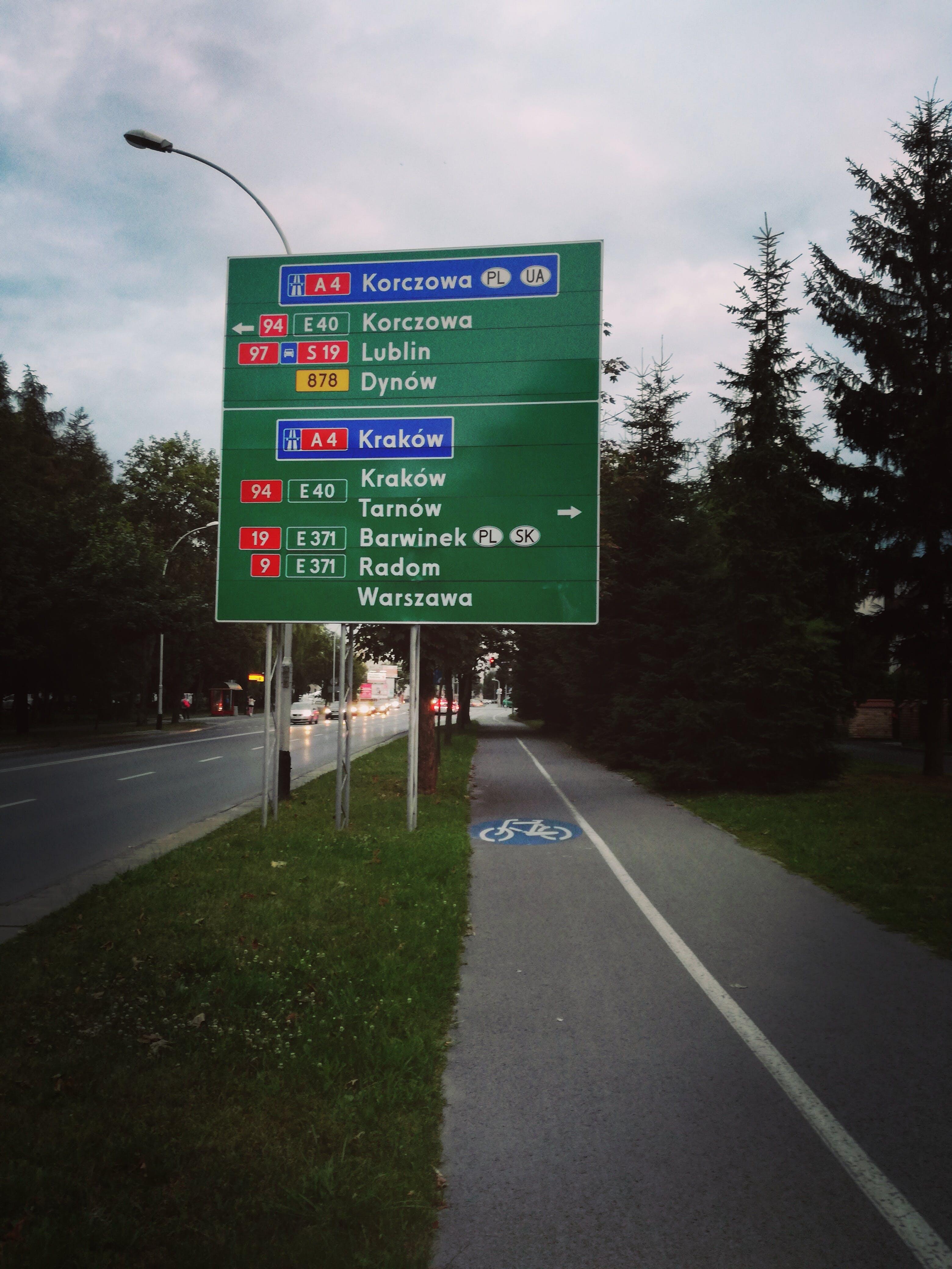 Δωρεάν στοκ φωτογραφιών με δρόμοι, Νύχτα, Πολωνία, ταξίδι