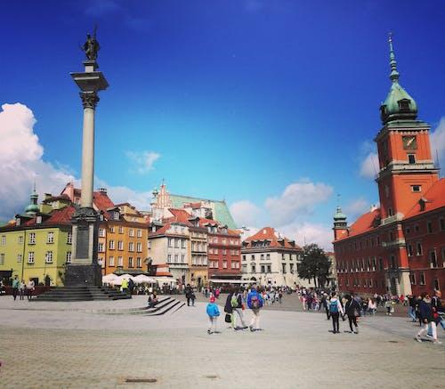 Ingyenes stockfotó Lengyelország, öreg város, warsaws tér témában