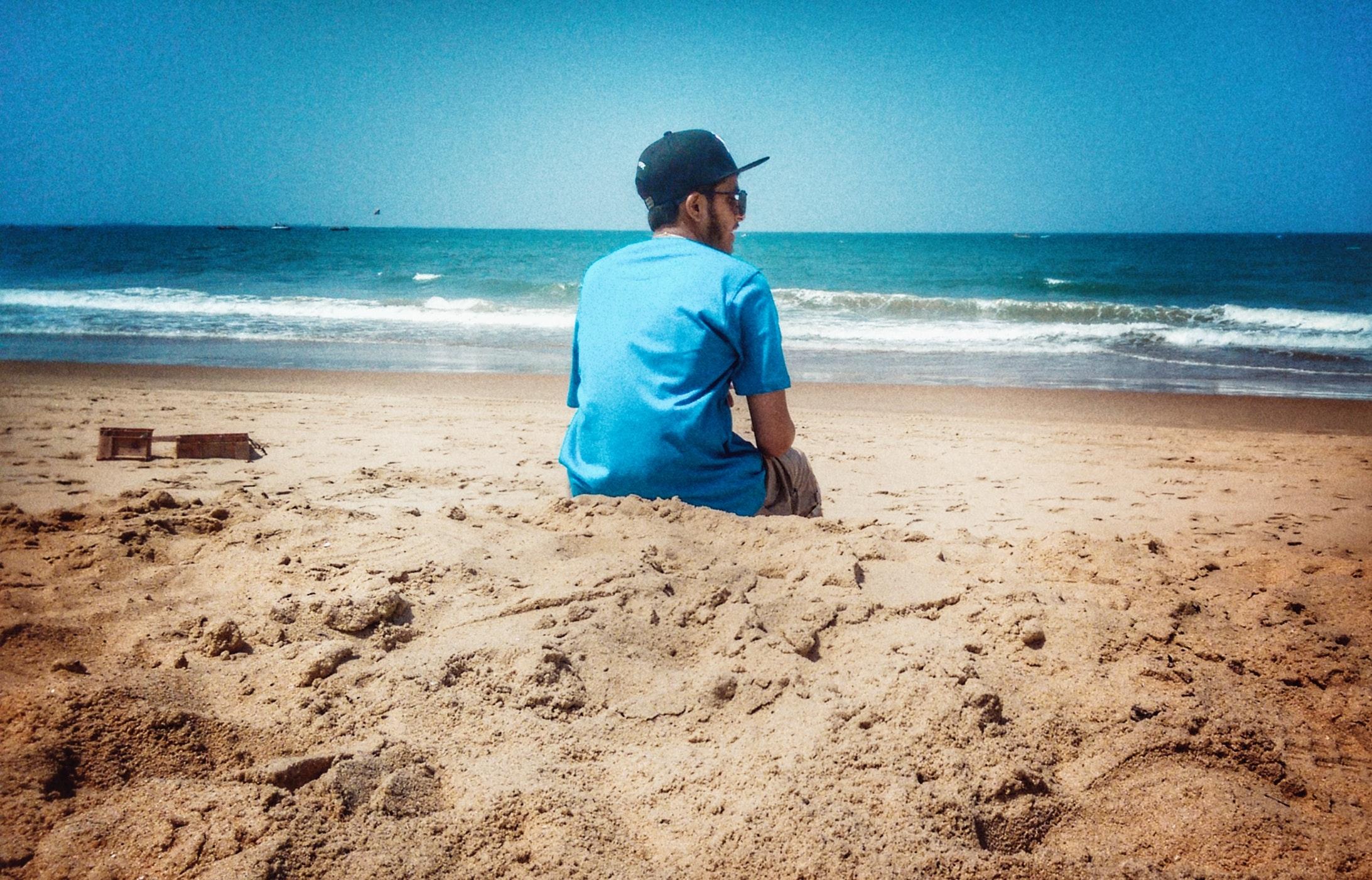 Free Stock Photo Of Beach Goa Photography Sea Blue Love