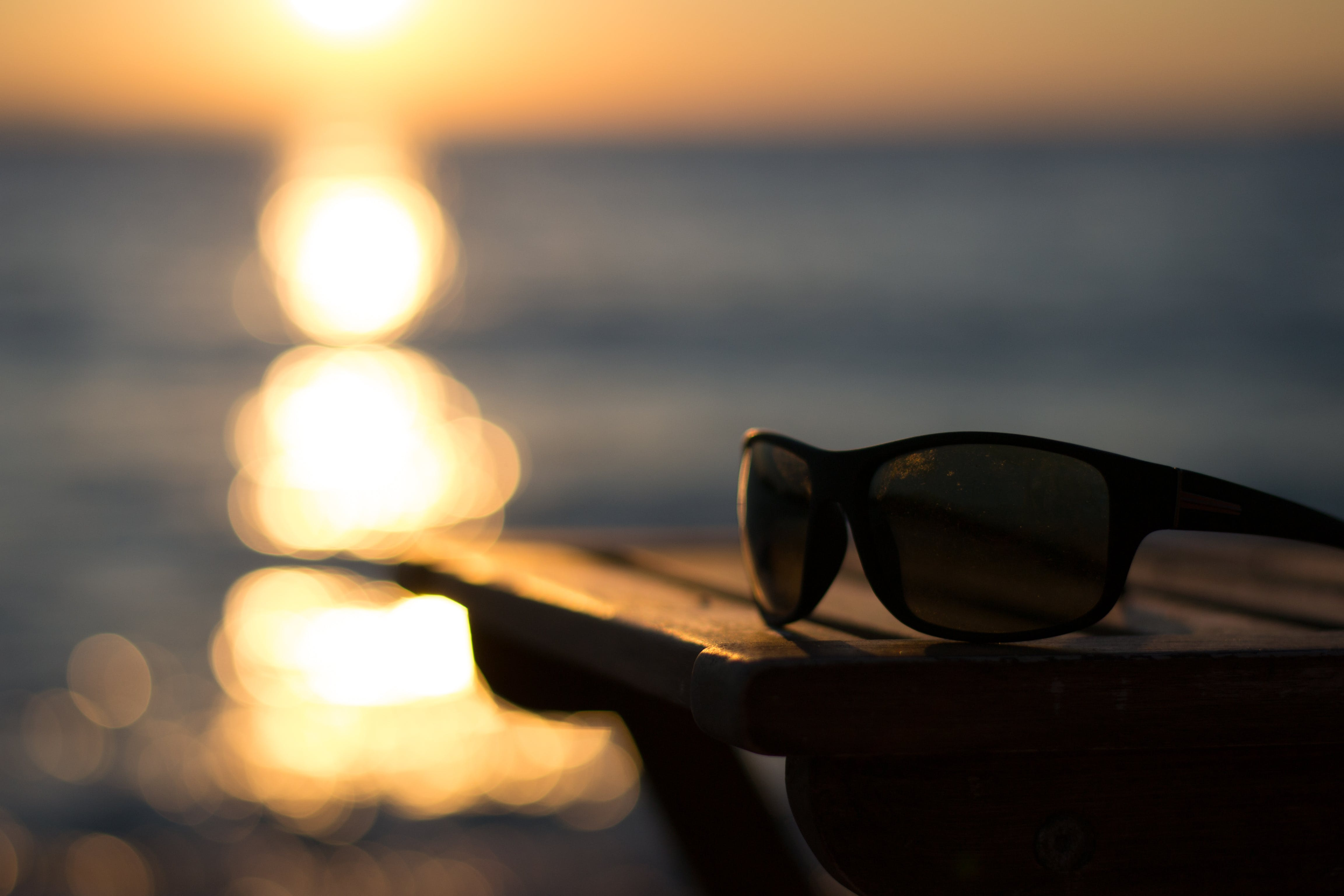 Free stock photo of sun glasses, sunset