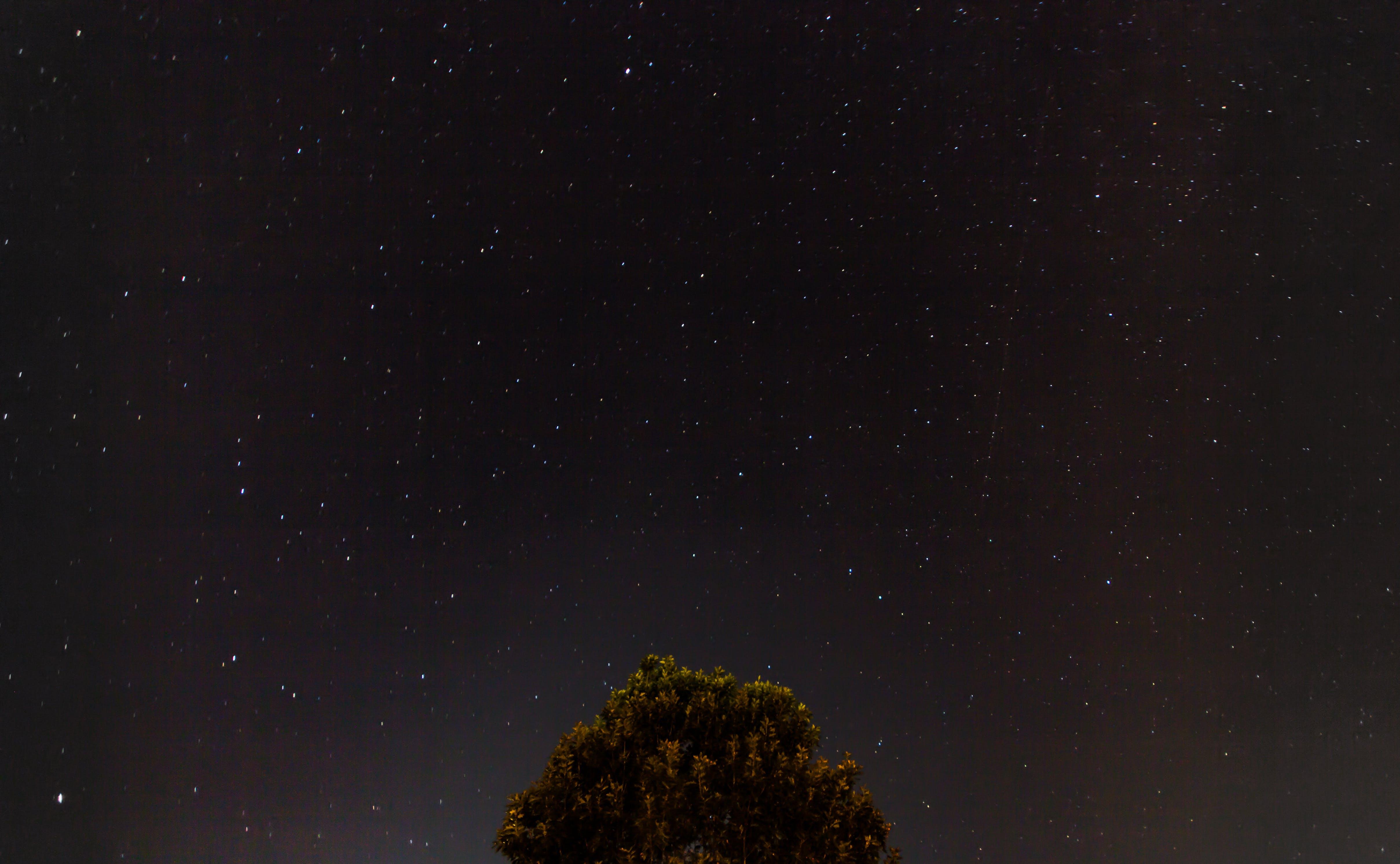 constellation, dark, night