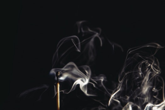 White Smoke in Macro Photography