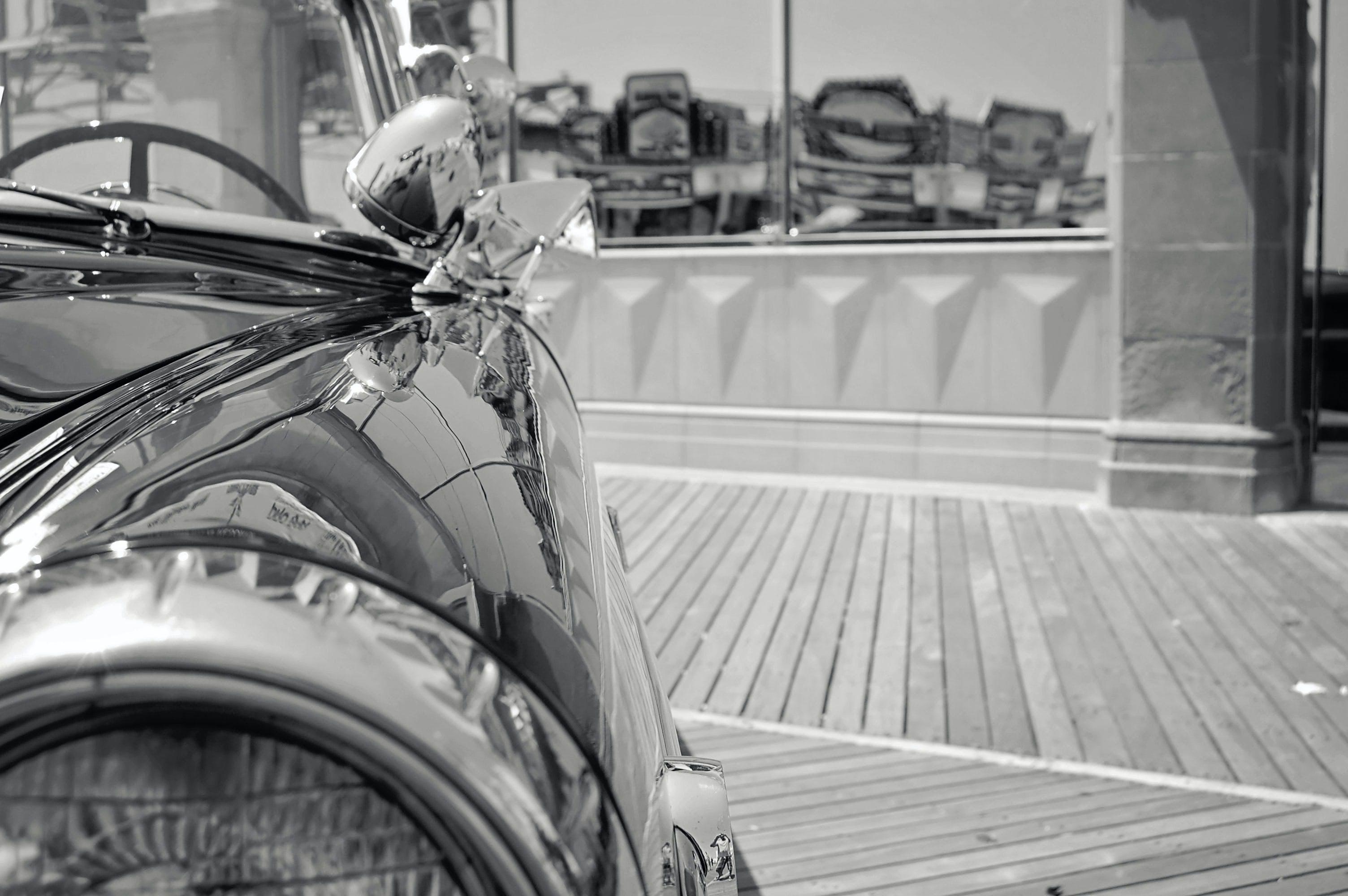 Gratis lagerfoto af årgang, bil, Cabriolet, chrome
