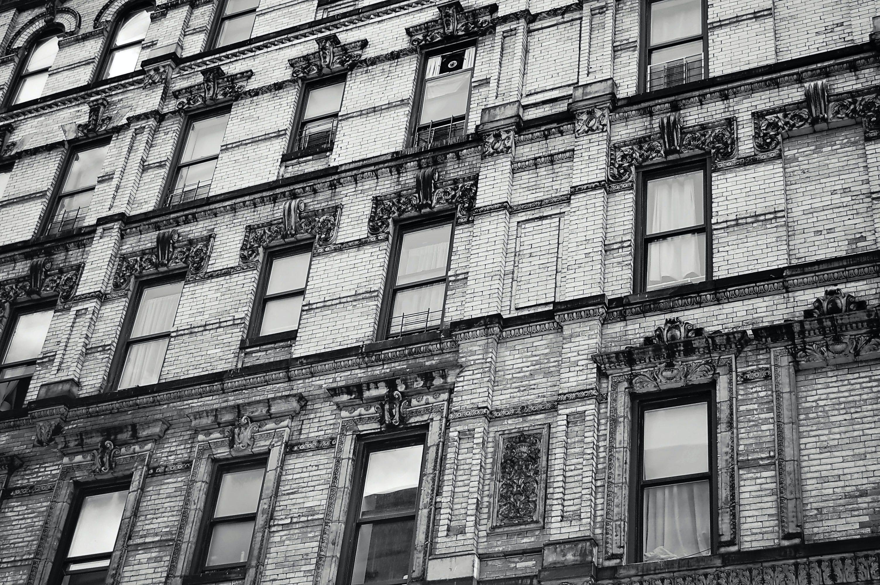 คลังภาพถ่ายฟรี ของ ขาวดำ, ครอบครัว, คลาสสิก, ถนน