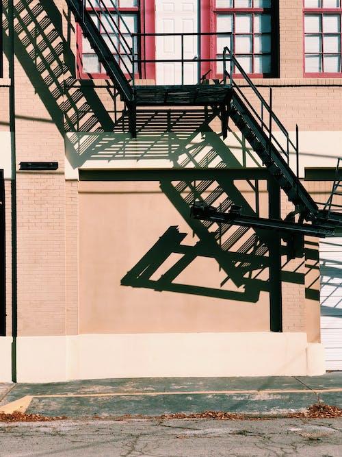 人行道, 城市, 太平梯, 建造 的 免费素材图片