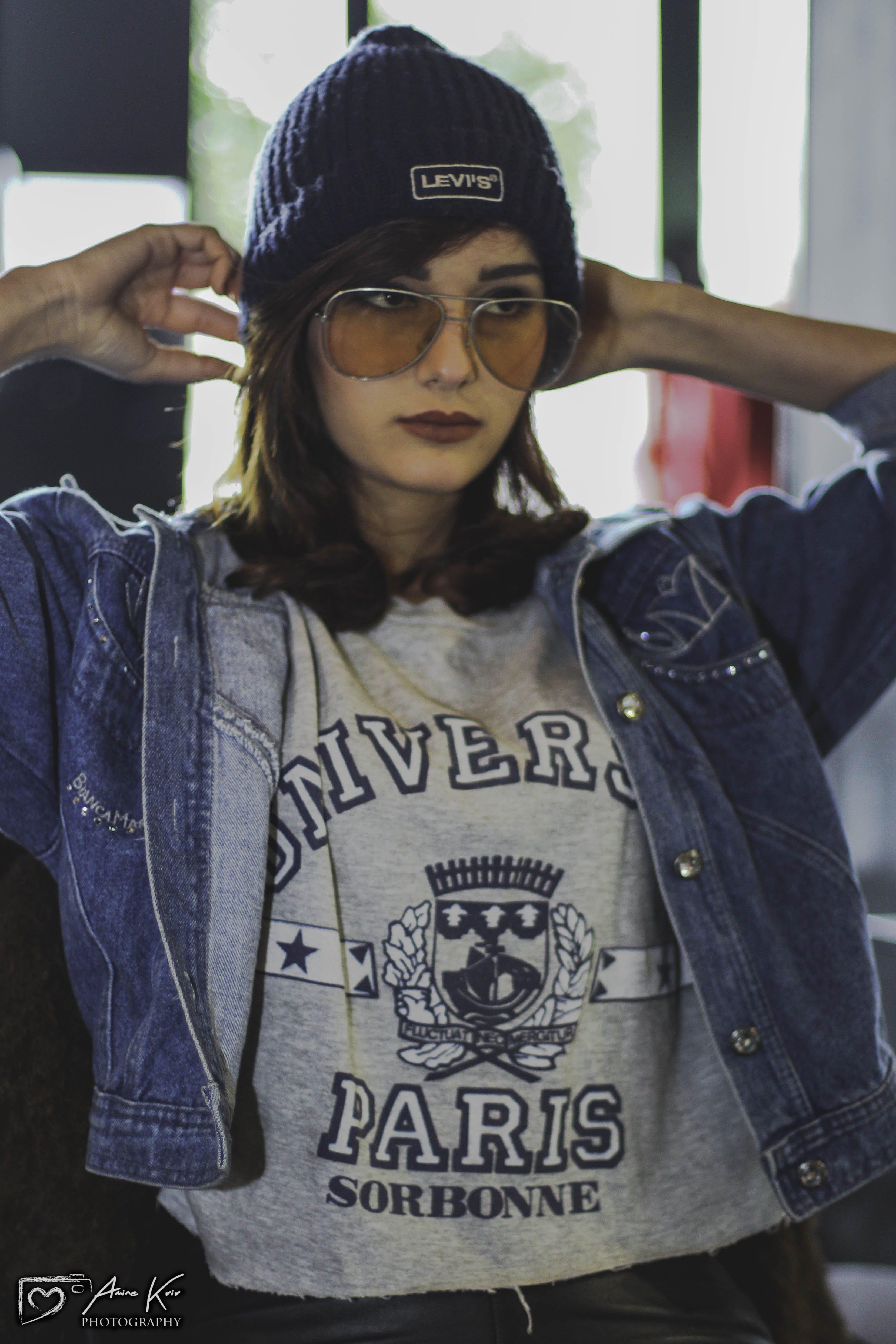 Free stock photo of beauty, blue jeans, fashion model, female model