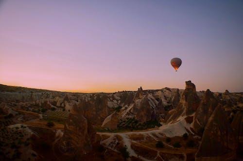 Fotobanka sbezplatnými fotkami na tému balón, denné svetlo, horizont, hory