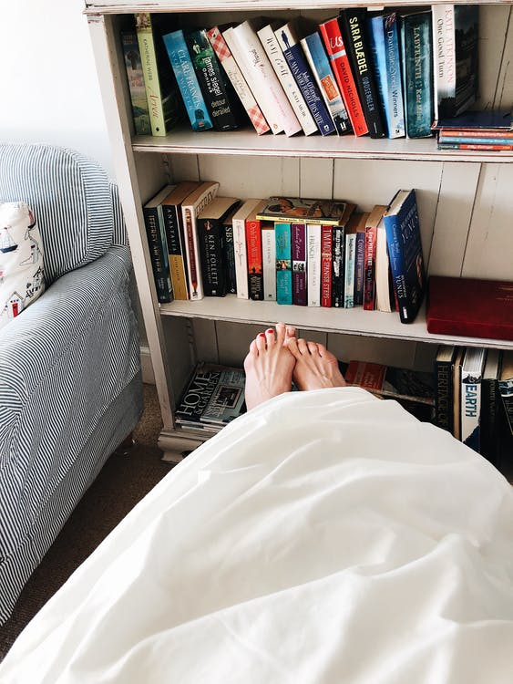White Fabric Blanket