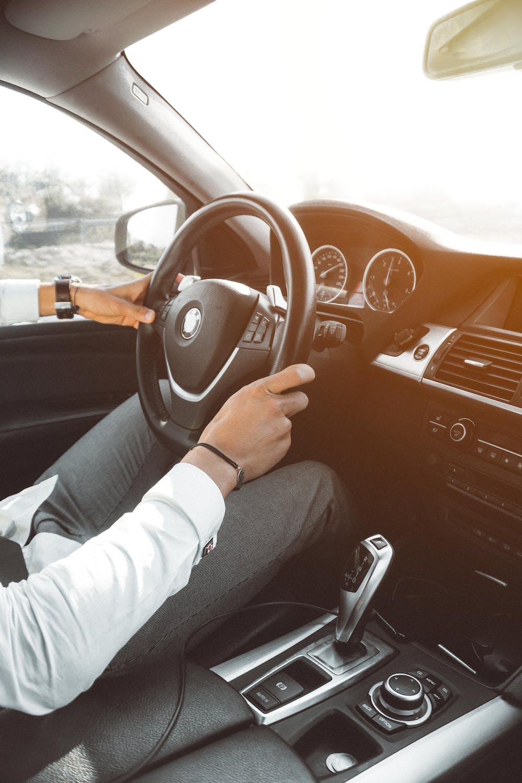 A man in his car. | Photo: Pexels