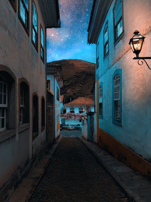 光, 光線, 历史建筑 的 免费素材图片