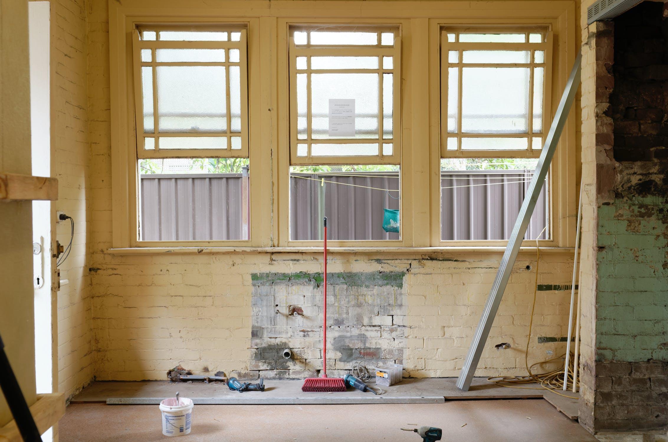 Ta in experthjälp för renovering
