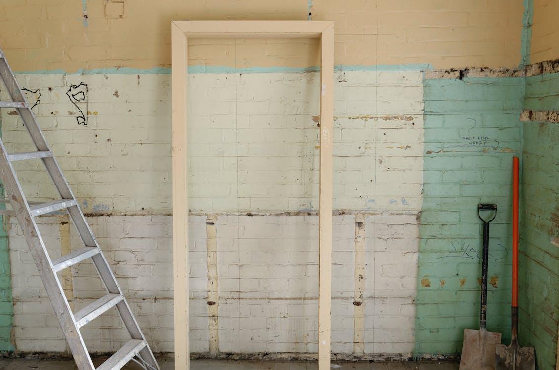 Brown Wooden Door Frame