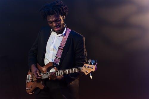 Ingyenes stockfotó afro-amerikai, elektromos gitár, előadás témában