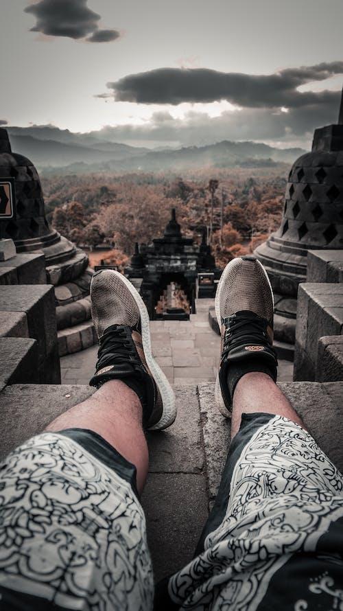 Kostnadsfri bild av ben, fötter, gymnastikskor, Skodon