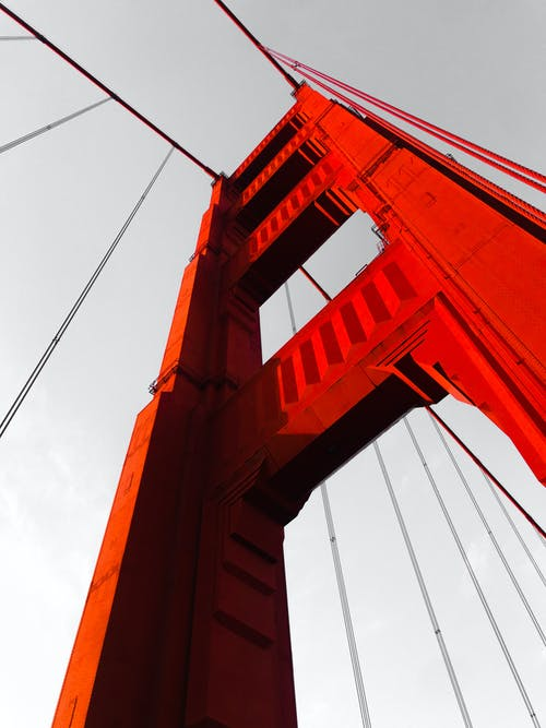 Free stock photo of architecture, bridge, golden gate