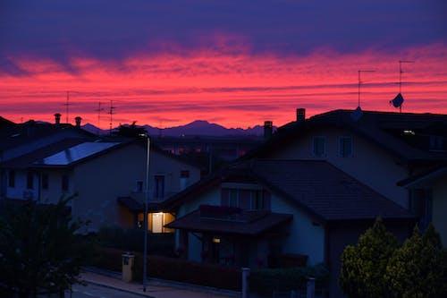 Free stock photo of evening sky, pink sky, sunset