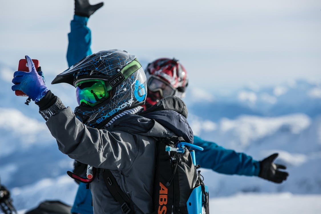 Capture One of a Kind Selfies Snowmobiling in Utah This Spring
