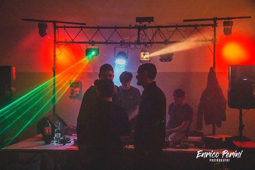 DJ, DJ 믹서, LED, LED 조명의 무료 스톡 사진