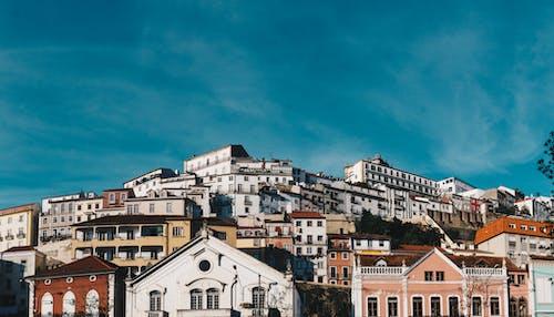 Imagine de stoc gratuită din arhitectură, case, cer, cer albastru