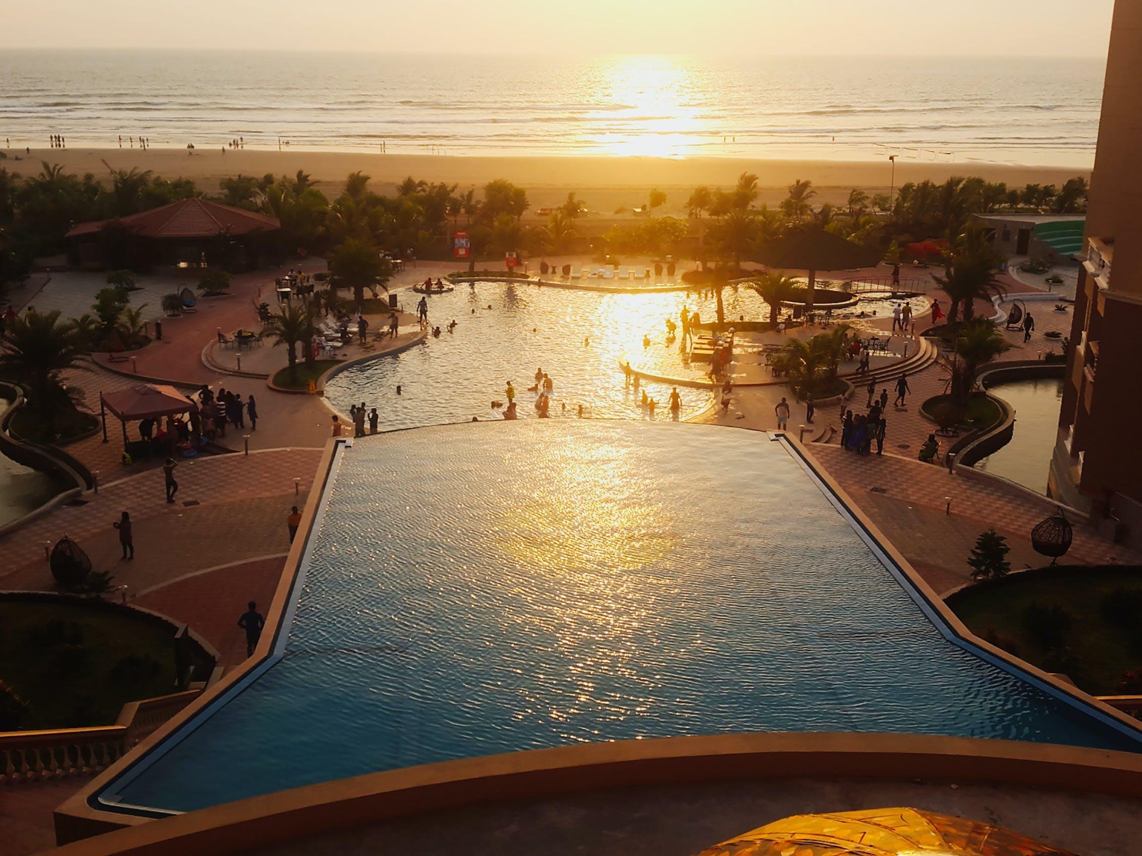 Free stock photo of beach, resort