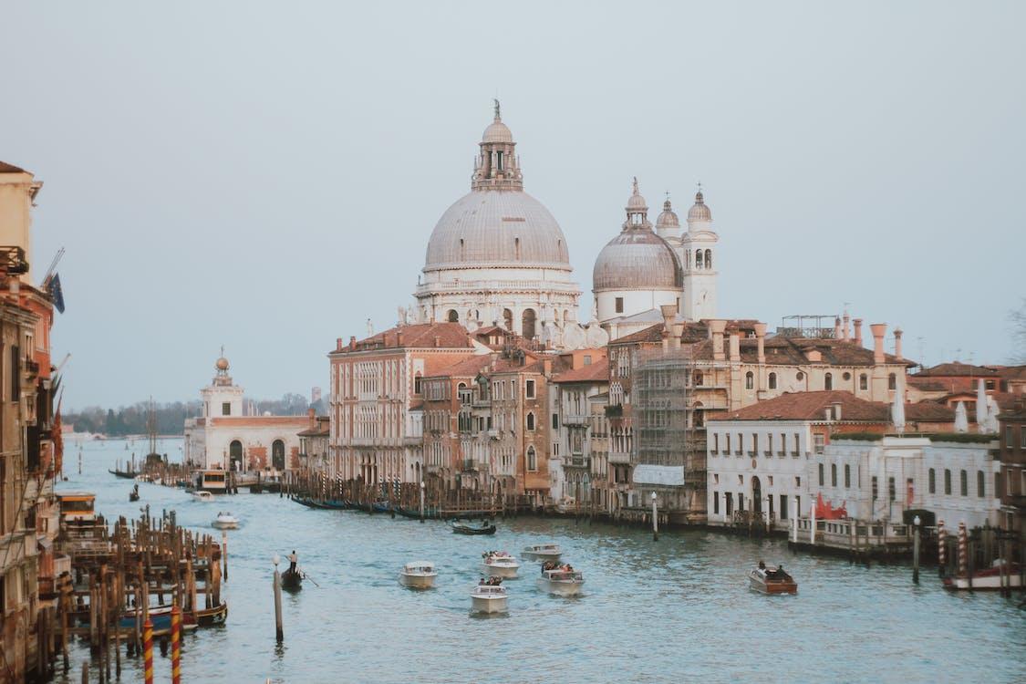 cảnh quan thành phố, con kênh, du lịch