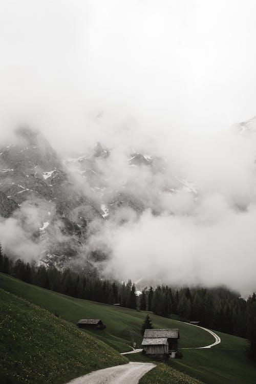 Základová fotografie zdarma na téma 4k tapeta, Alpy, bouře