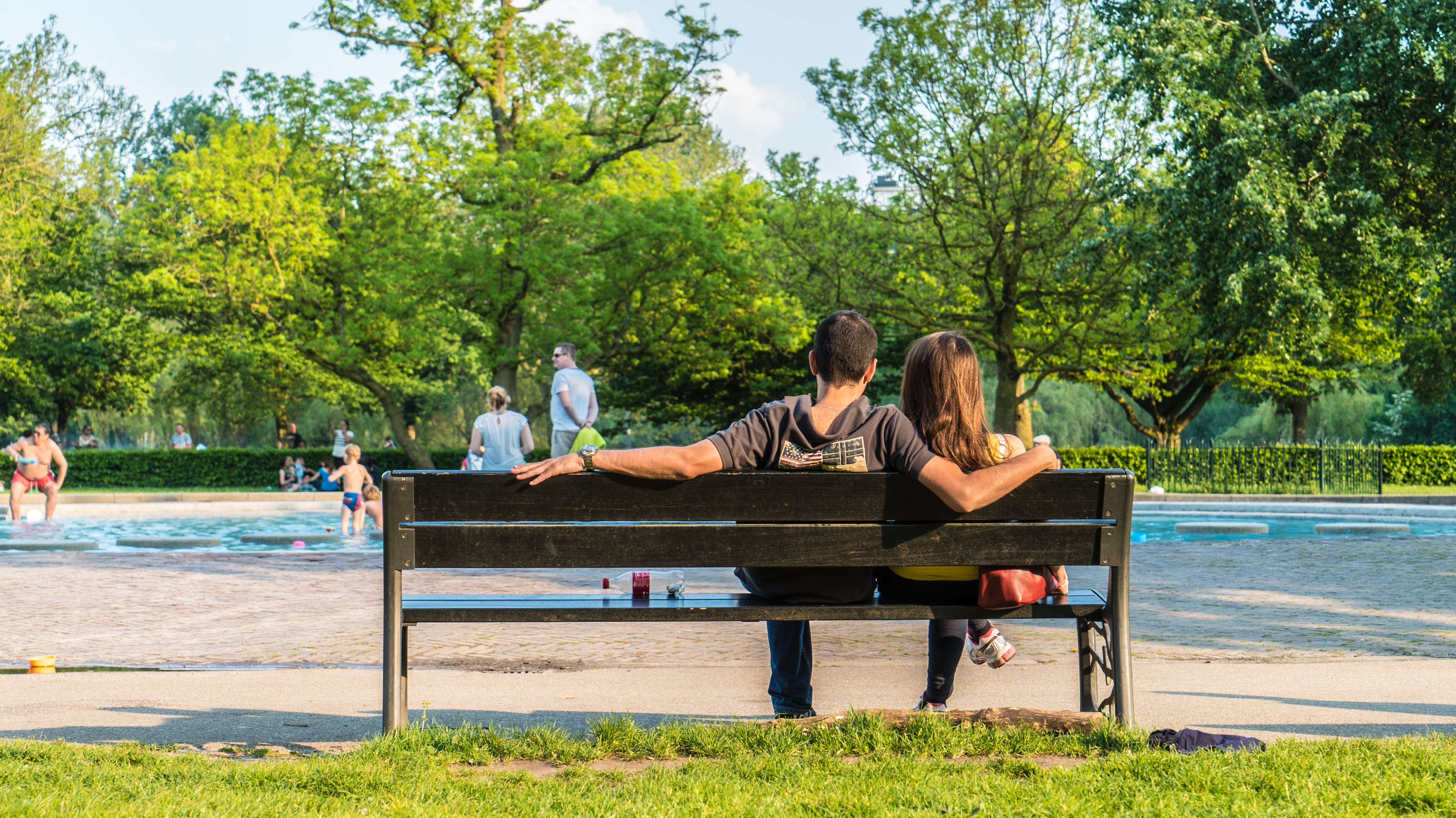 Free stock photo of amsterdam, couple, love, park