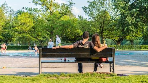 Gratis stockfoto met Amsterdam, koppel, liefde, park