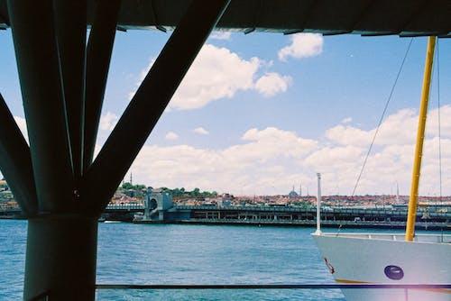 Boats in the Sea Harbor