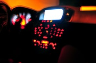 lights, blurry, insignia